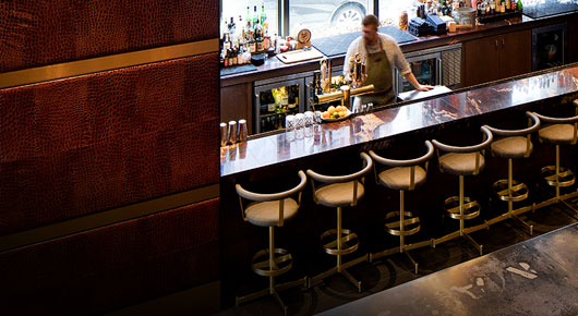 red rustic bar tops top restaurants bars lounges in 30 cities dine with kimpton